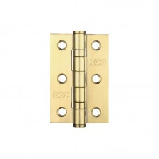 "Ball Bearing Door Hinge 3 x 2"" Grade 201 PVD Gold"
