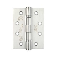 "Ball Bearing Door Hinge Pair & Half 4 x 3"" Grade 13 201 SS"