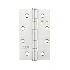 "Slim Knuckle Bearing Door Hinge 4 x 2.5"" 201 SS"