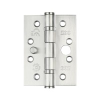 "Security Ball Bearing Door Hinge 4 x 3"" Grade 13 201 SS"