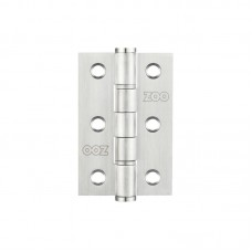 "Washered Door Hinge 3 x 2"" Grade 7 201 SS"