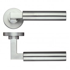 Orion Door Handle Screw on Rose 304 SS