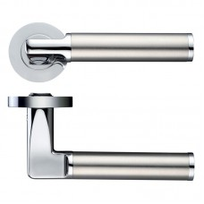 Milan Door Handle Screw on Rose CPSS