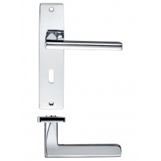 Venice Lock Door Handle 43 x 180mm CP
