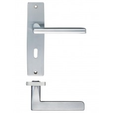 Venice Lock Door Handle 43 x 180mm SC