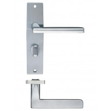 Venice Lever Bathroom Door Handle 43 x 180mm SC