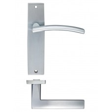 Amalfi Latch Door Handle 43 x 180mm SC