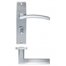 Amalfi Bathroom Door Handle 43 x 180mm SC