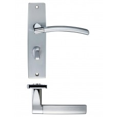 Amalfi Bathroom Door Handle 43 x 180mm SCCP