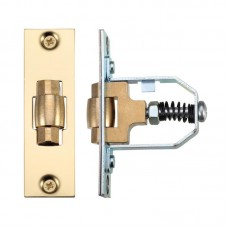 Roller Door Latch Adjustable 76mm PVD Gold