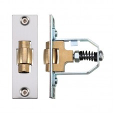Roller Door Latch Adjustable 76mm SS