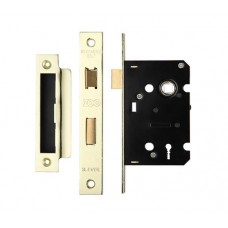 3L Sash Door Lock 64mm Case 44.5mm Bkst EB