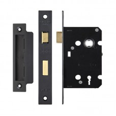 Zoo Hardware - 3L Sash Door Lock 76mm Case 57mm Bkst PCB - ZSC376PCB