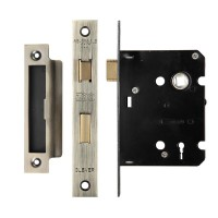3L Sash Door Lock 76mm Case 57mm Bkst FB