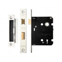 3L Sash Door Lock 76mm Case 57mm Bkst NP