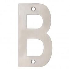 """Door Letter - """"B"""" 102mm SS"""