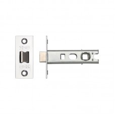 "Bolt Through Tubular Door Latch 3"" 57mm Bkst PS"