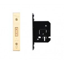 Zoo Hardware - Dead Door Lock 3L - 67.5mm 44.5mm Bkst PVD - ZUKD364PVD