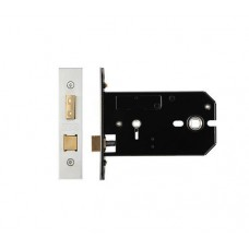 Bathroom Door Lock 127mm Forend & Strike 102mm Bkst SS
