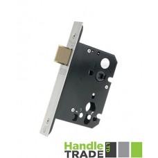 "Zoo Hardware - Upright Door Latch 79.5mm 3"" Forend & Strike 57mm Bkst SS - ZUKU76SS"