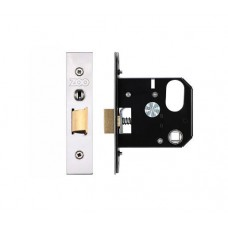 Zoo Hardware - 3L UK Door Replacement Night Latch 76mm 57mm Bkst SS - ZURNL76SS