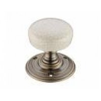 Fulton & Bray porcelain Door Knobs